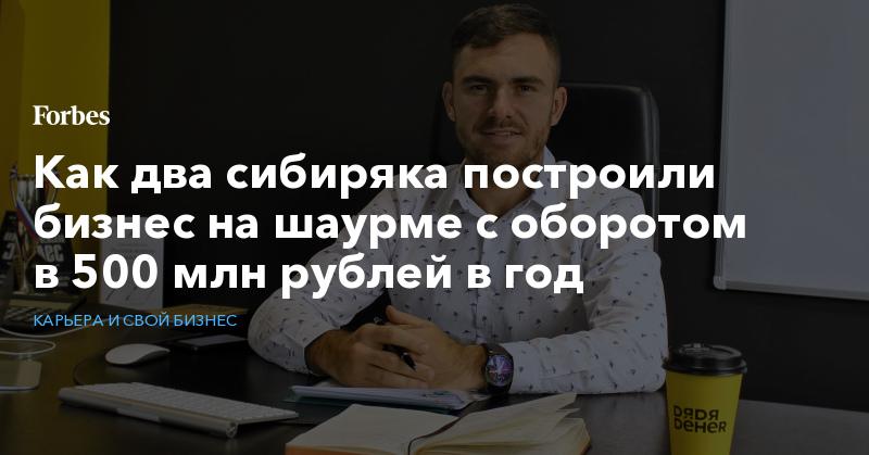 Как два сибиряка построили бизнес на шаурме с оборотом в 500 млн рублей в год   Карьера и свой бизнес   Forbes.ru