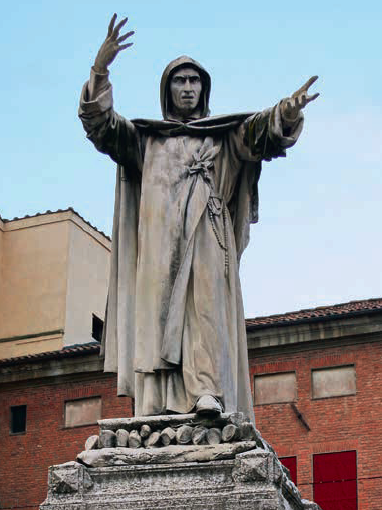 Стефано Галлетти ( Памятник Джироламо Савона- роле )