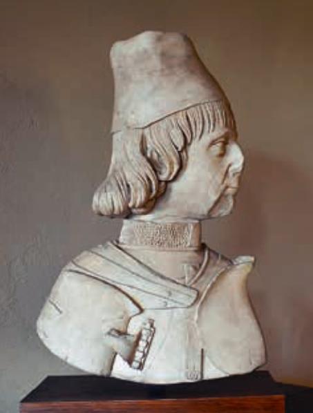 Сперандио Савелли ( Бюст Эрколе I д'Эсте )