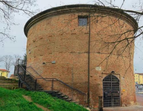 Бьяджо Россетти Башня Сан Джованни в начале корсо Порта Маре