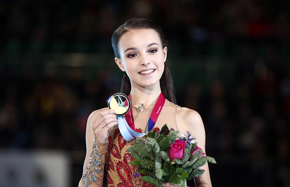 Анна Щербакова, 17